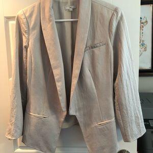 Gap silver tuxedo jacket
